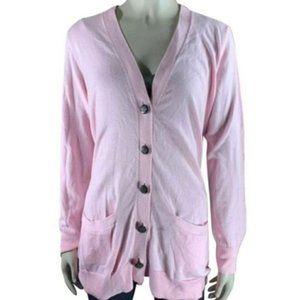 Lauren Ralph Lauren Women's Button Down Sweater S